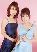 小倉 千佳(フルート) 椿 路子(ピアノ)